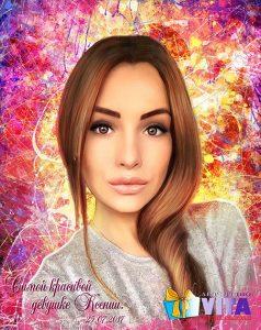 Портрет в стиле Гранж в Воронеже девушка